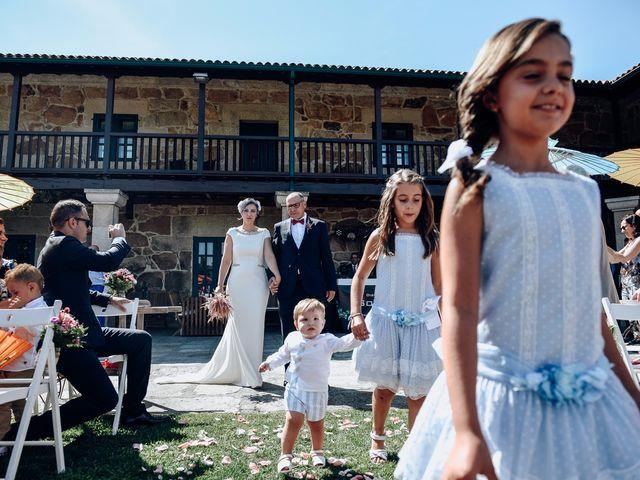 La boda de David y Natalia en Ourense, Orense 38