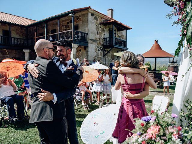 La boda de David y Natalia en Ourense, Orense 41