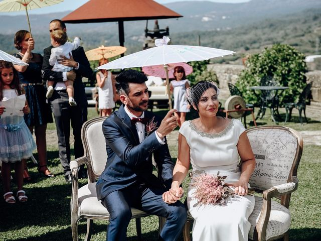 La boda de David y Natalia en Ourense, Orense 45