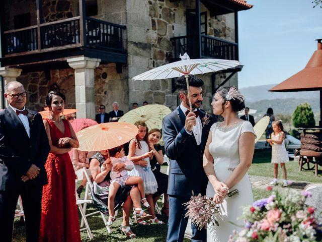 La boda de David y Natalia en Ourense, Orense 49