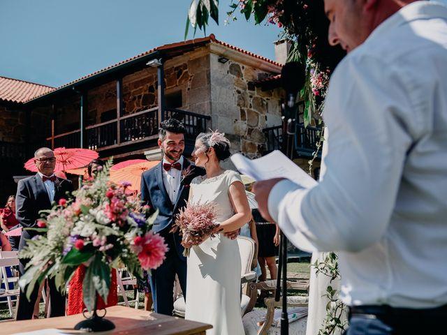 La boda de David y Natalia en Ourense, Orense 50