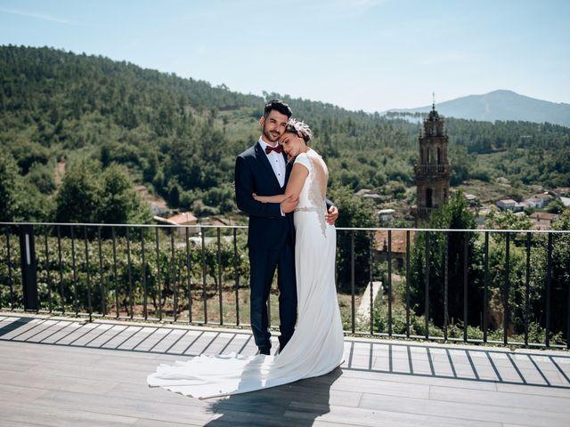 La boda de David y Natalia en Ourense, Orense 56