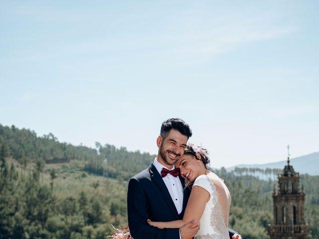 La boda de David y Natalia en Ourense, Orense 57