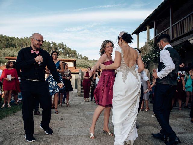 La boda de David y Natalia en Ourense, Orense 90