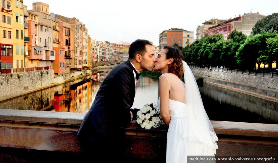 La boda de Dani y Eva en Girona, Girona