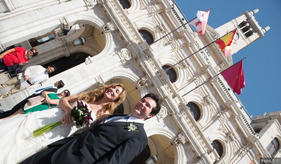 La boda de Ruben y Cristina en Quintanilla De Onesimo, Valladolid
