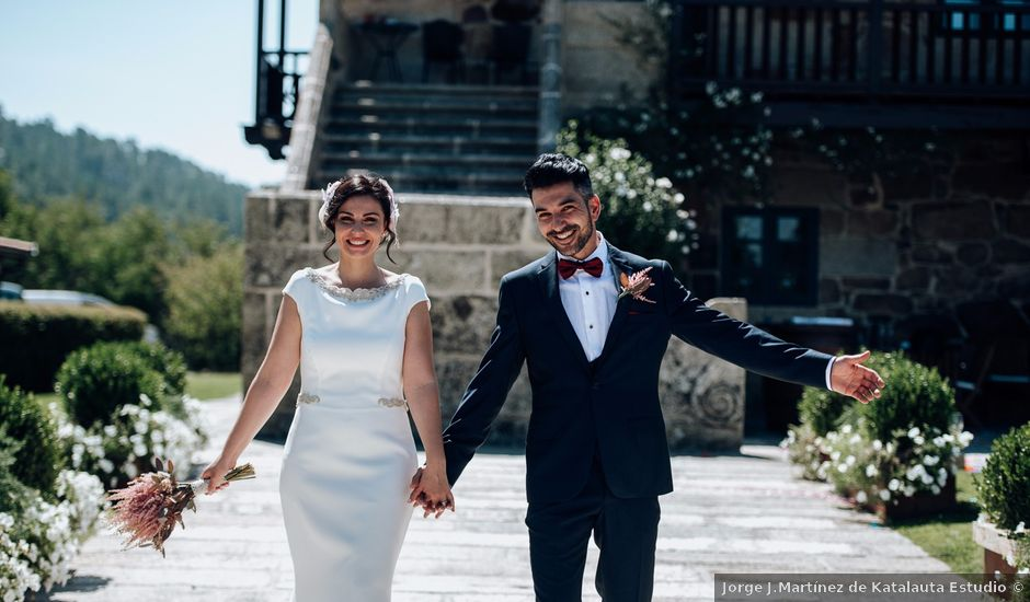 La boda de David y Natalia en Ourense, Orense