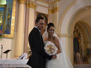 La boda de Antonio y Melisa