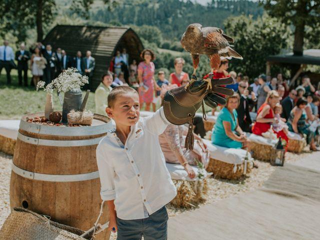 La boda de Dani y Itziar en Morga, Vizcaya 11