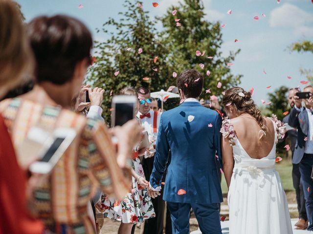 La boda de Eduardo y Cristina en Puentedura, Burgos 25