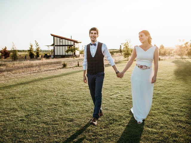 La boda de Eduardo y Cristina en Puentedura, Burgos 1