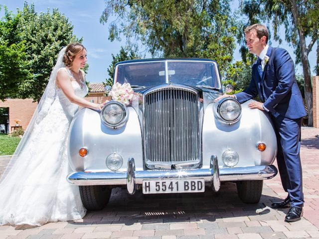 La boda de Alberto y Elena en Carranque, Toledo 1