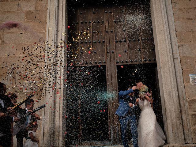 La boda de Óscar y Esther en El Tiemblo, Ávila 29