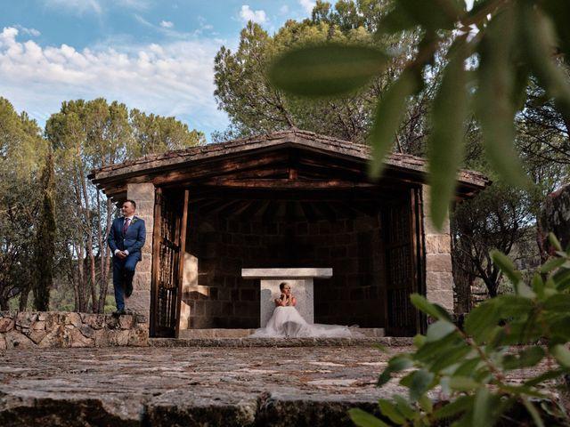 La boda de Óscar y Esther en El Tiemblo, Ávila 35