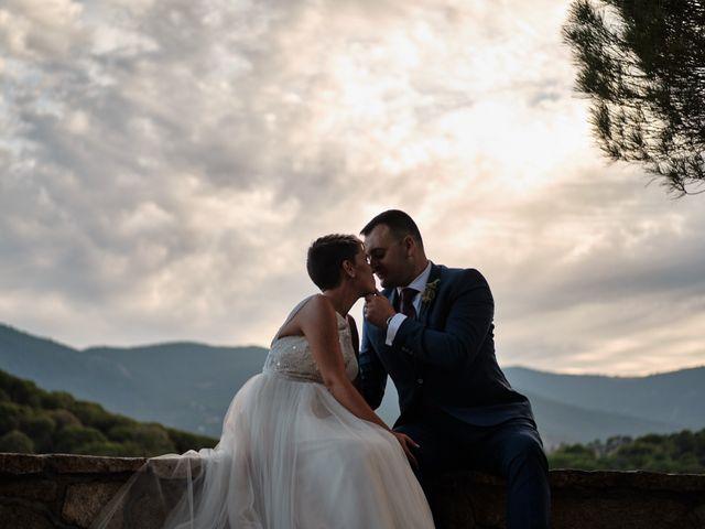 La boda de Óscar y Esther en El Tiemblo, Ávila 36