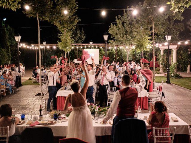 La boda de Óscar y Esther en El Tiemblo, Ávila 45