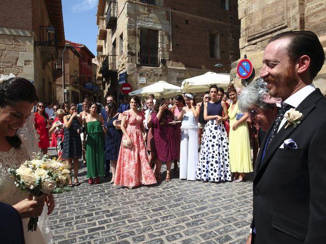 La boda de Luis y Eva en Navarrete, La Rioja 9