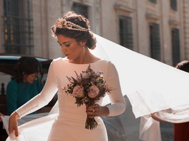 La boda de Adrián y Virginia en Los Palacios Y Villafranca, Sevilla 40