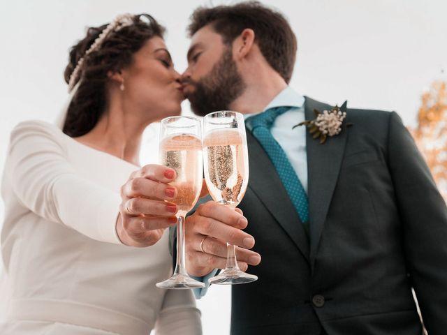 La boda de Adrián y Virginia en Los Palacios Y Villafranca, Sevilla 69