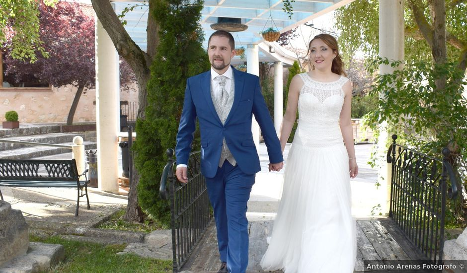 La boda de Guille y Mar en Sotos De Sepulveda, Segovia