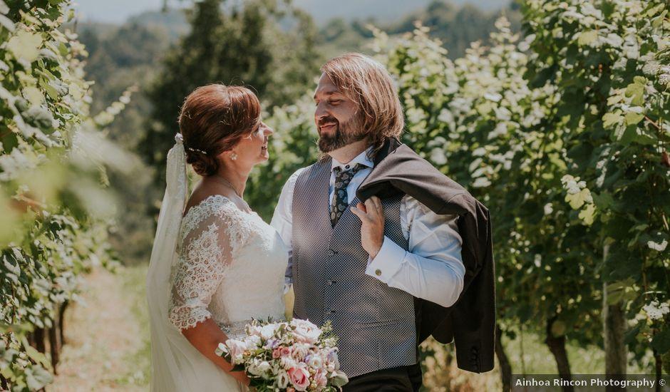 La boda de Dani y Itziar en Morga, Vizcaya