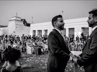 La boda de Alberto y Juan
