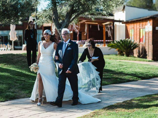 La boda de Joel y Rosa en L' Ametlla De Mar, Tarragona 35