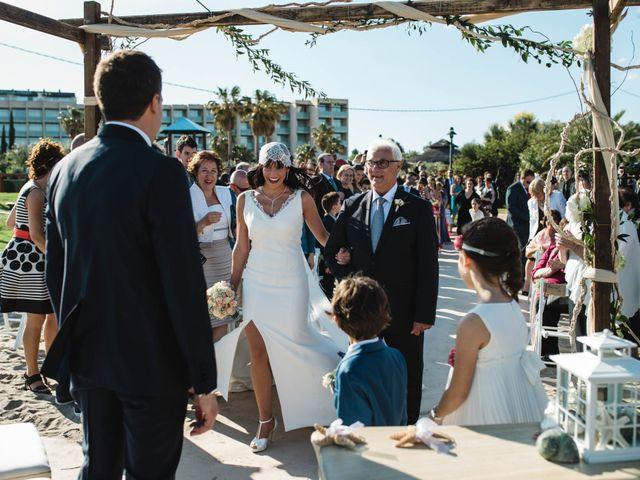 La boda de Joel y Rosa en L' Ametlla De Mar, Tarragona 37