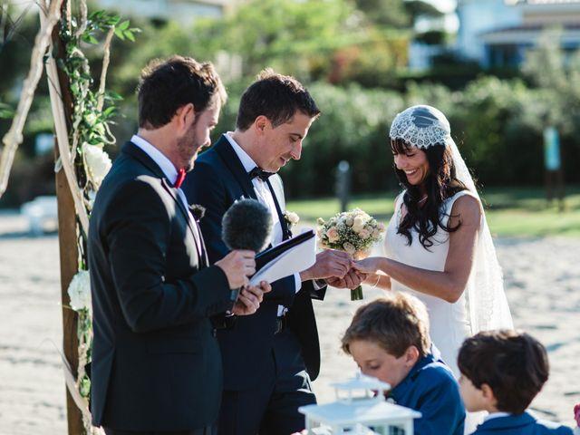 La boda de Joel y Rosa en L' Ametlla De Mar, Tarragona 44