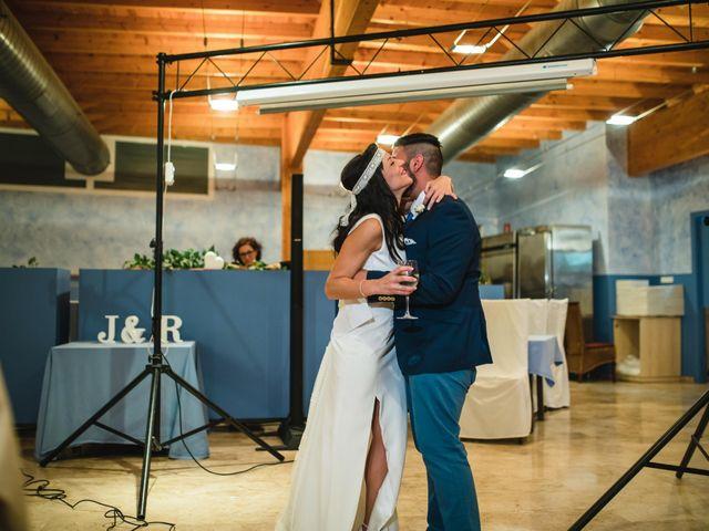 La boda de Joel y Rosa en L' Ametlla De Mar, Tarragona 63