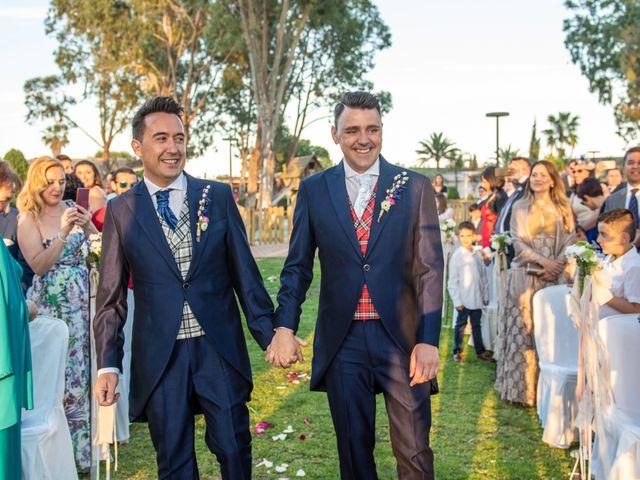 La boda de German y Javier en Valencia, Valencia 129