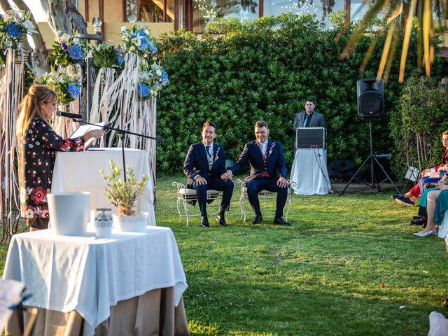 La boda de German y Javier en Valencia, Valencia 141