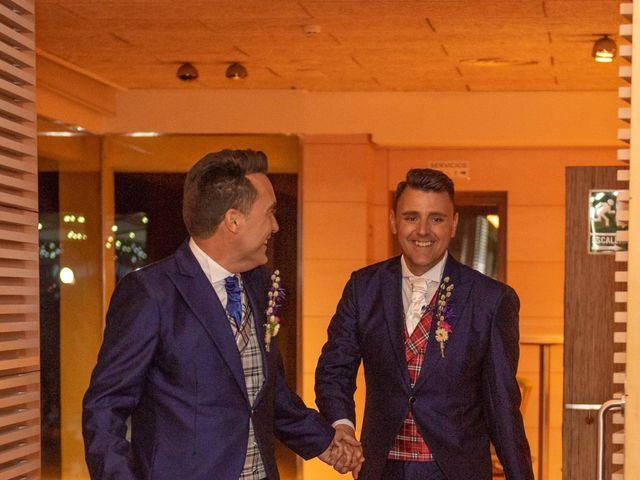 La boda de German y Javier en Valencia, Valencia 323