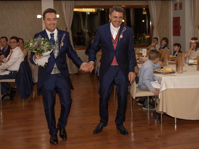 La boda de German y Javier en Valencia, Valencia 343