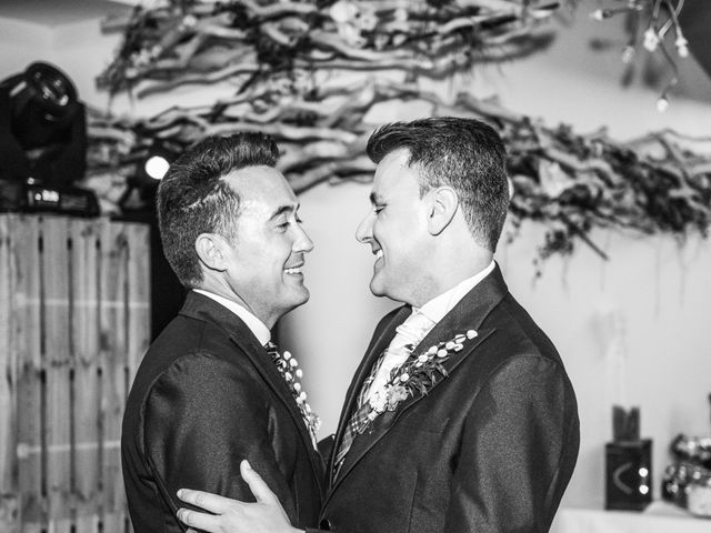 La boda de German y Javier en Valencia, Valencia 411