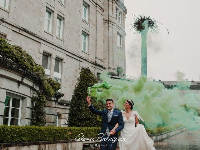 La boda de Rafael  y Rocío en Mondariz (Balneario), Pontevedra 5
