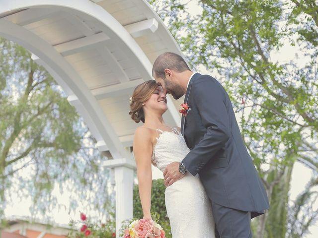 La boda de Javier y Laura en Montbrio Del Camp, Tarragona 1