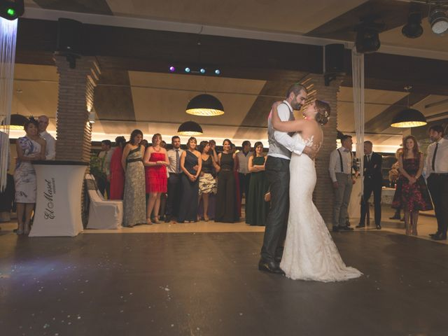 La boda de Javier y Laura en Montbrio Del Camp, Tarragona 39