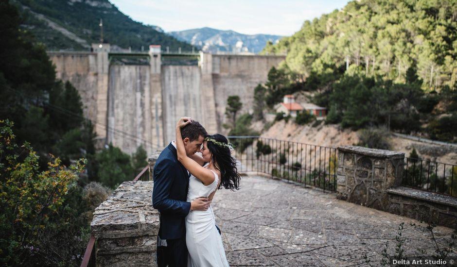 La boda de Joel y Rosa en L' Ametlla De Mar, Tarragona