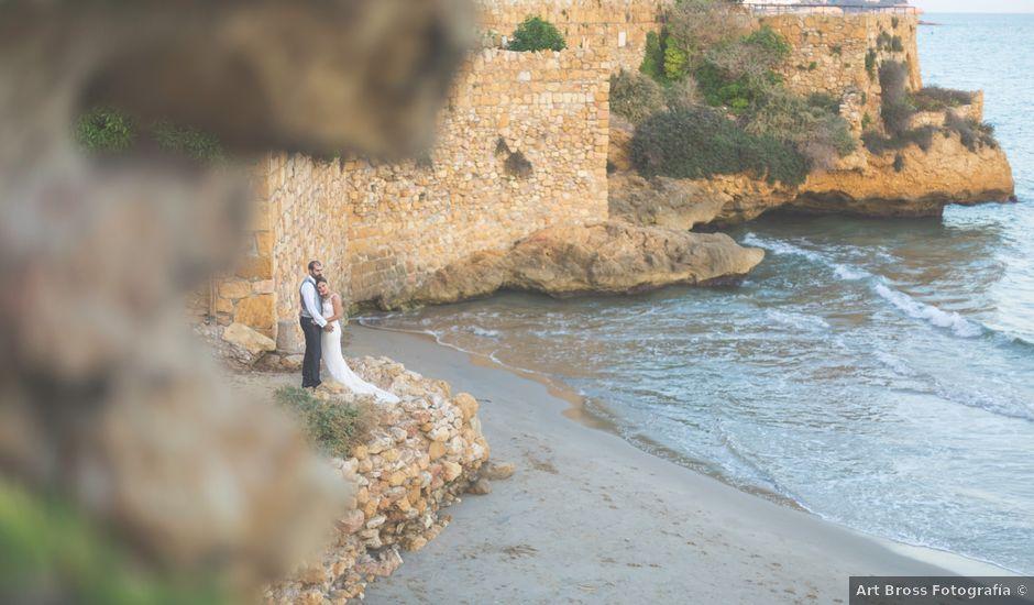 La boda de Javier y Laura en Montbrio Del Camp, Tarragona