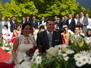 La boda de Mercedes y David