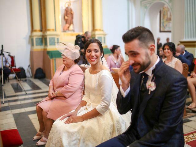 La boda de Angel y Carmen en Xàtiva, Valencia 76