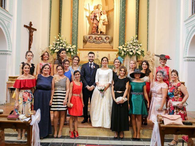 La boda de Angel y Carmen en Xàtiva, Valencia 92
