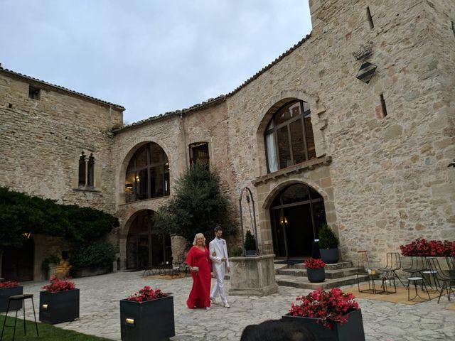 La boda de Andrés  y Vera Lucia  en Sant Marti De Tous, Barcelona 1