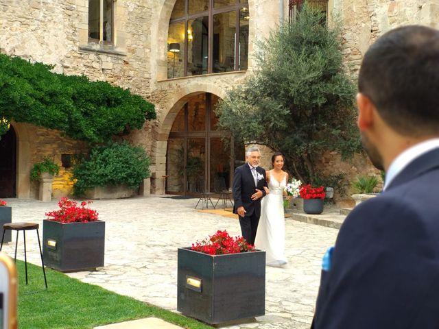 La boda de Andrés  y Vera Lucia  en Sant Marti De Tous, Barcelona 2