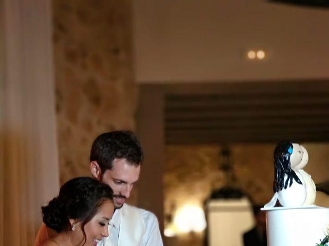 La boda de Andrés  y Vera Lucia  en Sant Marti De Tous, Barcelona 5