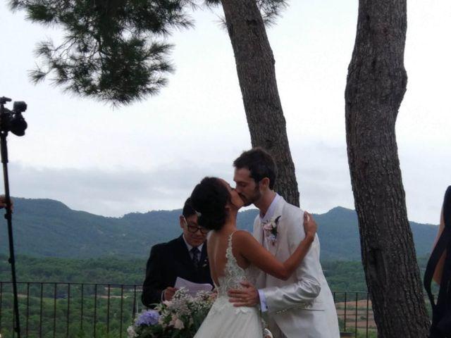 La boda de Andrés  y Vera Lucia  en Sant Marti De Tous, Barcelona 8