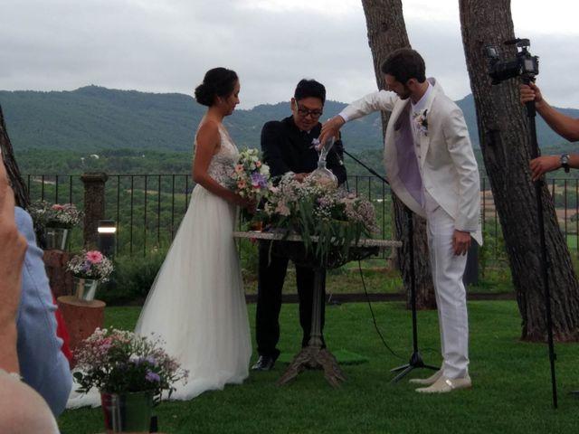 La boda de Andrés  y Vera Lucia  en Sant Marti De Tous, Barcelona 9