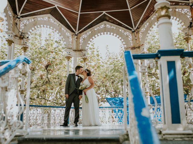 La boda de Irantzu y Rubén