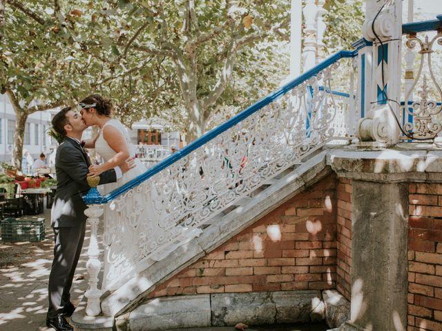 La boda de Rubén y Irantzu en Portugalete, Vizcaya 33